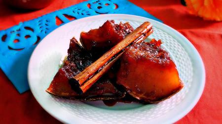 Dulce caramelizado de calabaza de Castilla. Receta para el Día de Muertos