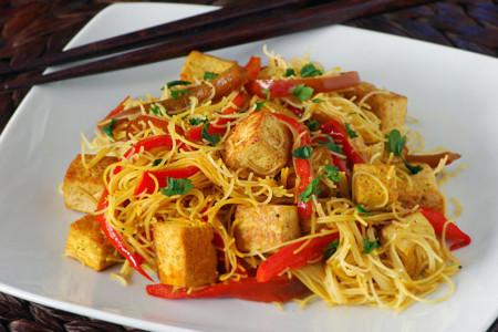 Gluten Fideos Tofu