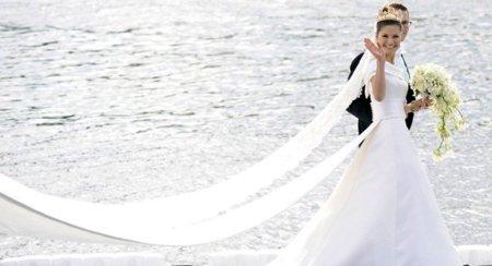 El vestido de novia de la Princesa Victoria de Suecia