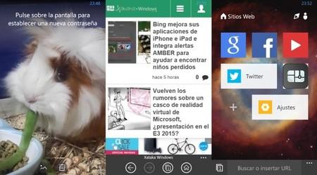 UC Browser se actualiza con mejoras de privacidad, integración a Cortana y mucho más
