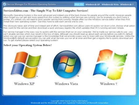 Devuelve los valores por defecto a los servicios de Windows
