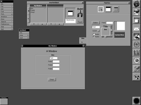Interface Builder, la herramienta(tool) que revolucionó el desarrollo allá por 1988.