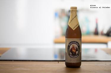 Franziskaner Hefe-Weißbier. Cata de cerveza alemana