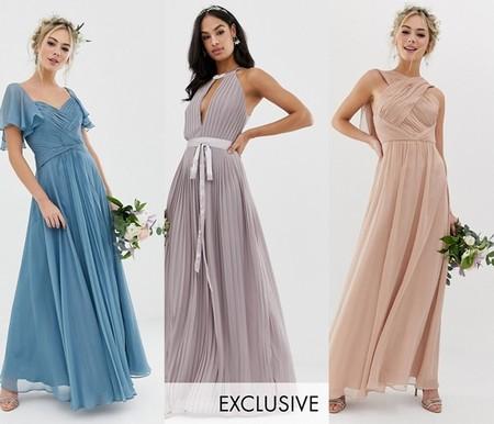 ae28eb010d Vestidos para damas de honor que no son nada convencionales