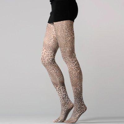 medias estampado leopardo