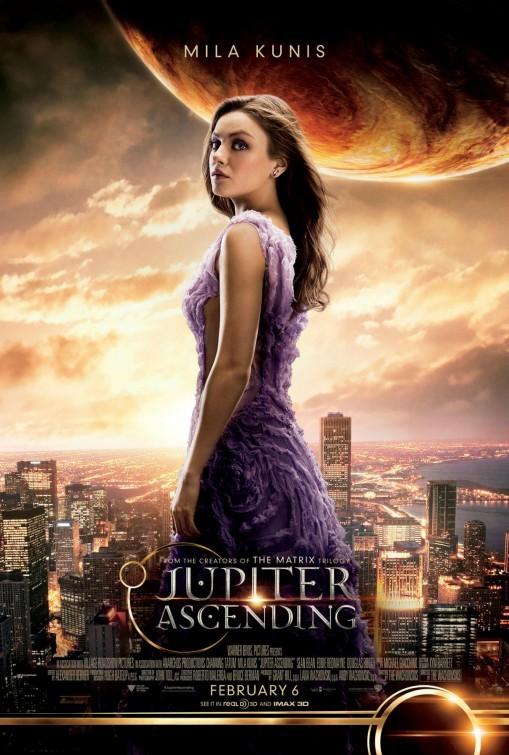 Foto de 'El destino de Júpiter', últimos carteles de los protagonistas (2/4)