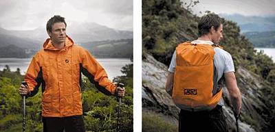 RuckJack, la chaqueta que se convierte en mochila