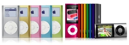 apple ipod mini nano
