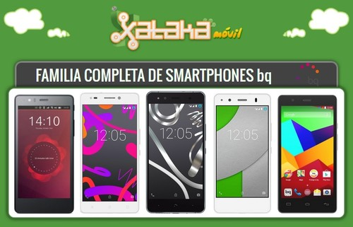 Así queda el catálogo completo de smartphones bq tras la llegada del bq Aquaris X5