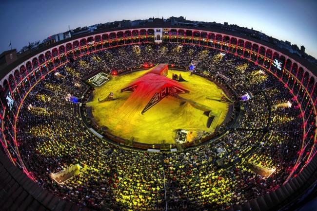 Tom Pages arrasa de nuevo en el Red Bull X-Fighters Madrid 2015