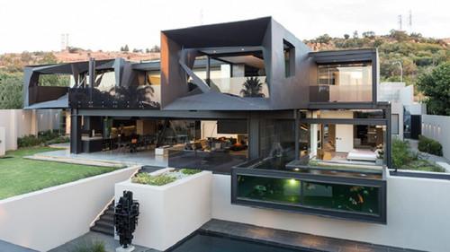 Kloof Road, una espectacular casa moderna abierta al exterior