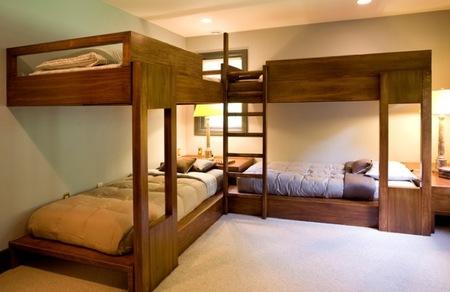 Un dormitorio para cuatro niños