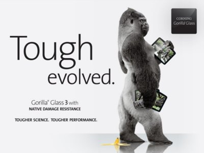 Los primeros dispositivos con Gorilla Glass 3 llegarán a mediados de año