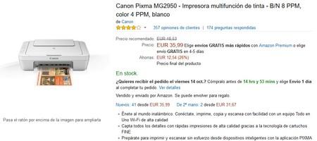 Canon Pixma Mg2950 Wifi Amazon