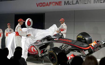 McLaren anuncia la fecha de presentación de su Fórmula 1 de 2013