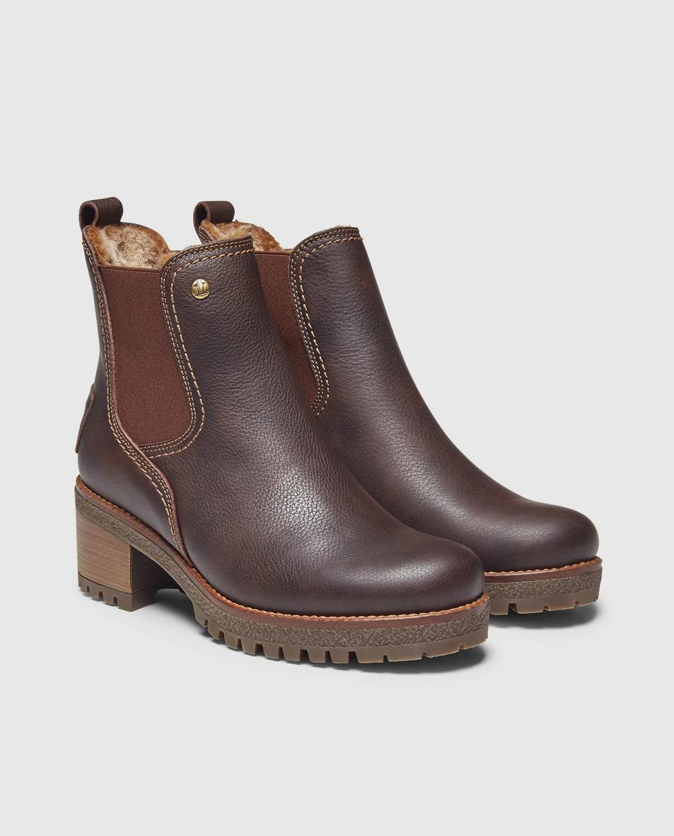 Botas de mujer Panama Jack de piel en color marrón