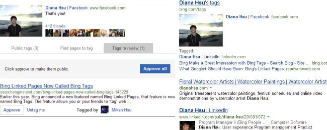 Bing incorpora etiquetas en las búsquedas también para Twitter y blogs