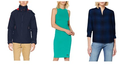 Chollos en tallas sueltas de camisas, vestidos o pantalones en marcas como Pepe Jeans, Superdry o Lee disponibles en Amazon
