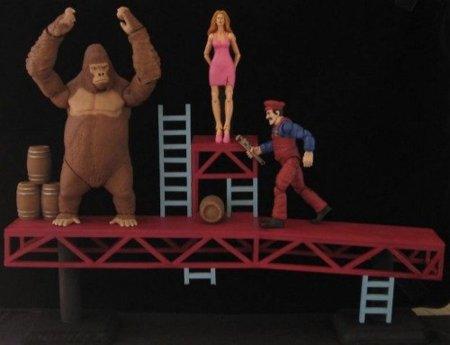 Muñecos de Donkey Kong, de los píxeles a casi la realidad