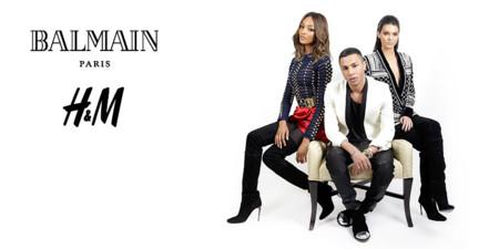Se filtran imágenes de la anticipada colaboración entre Balmain y H&M