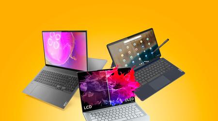 Los OLED y la ligereza abanderan las novedades de Lenovo en ultraportátiles Yoga Slim y un nuevo Chromebook 2 en 1