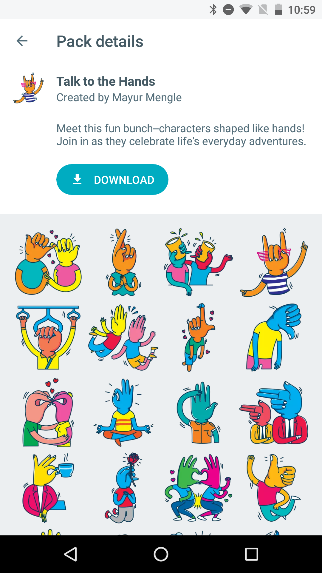Foto de Google Allo Stickers (8/24)
