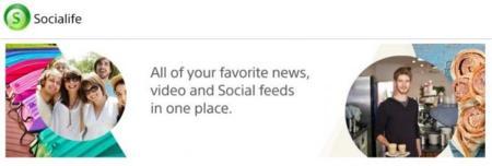 Sony libera Socialife en Play Store, su agregador de noticias y redes sociales