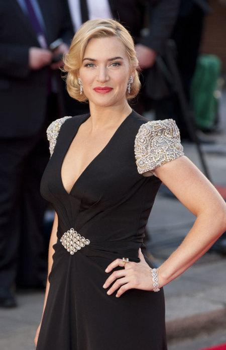 El look de Kate Winslet en la premiere Titanic 3D en Londres