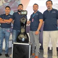 Roomie Bot, es un robot de servicio hecho en México, y sí,  habla español