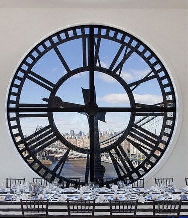 Vivir en la torre de un reloj en pleno Brooklyn