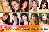 Encuesta: elige a las famosas españolas más sexys