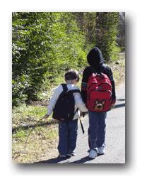 Enséñale el correcto uso de la mochila