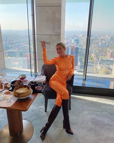 Street Style Naranja Aw 2019 04