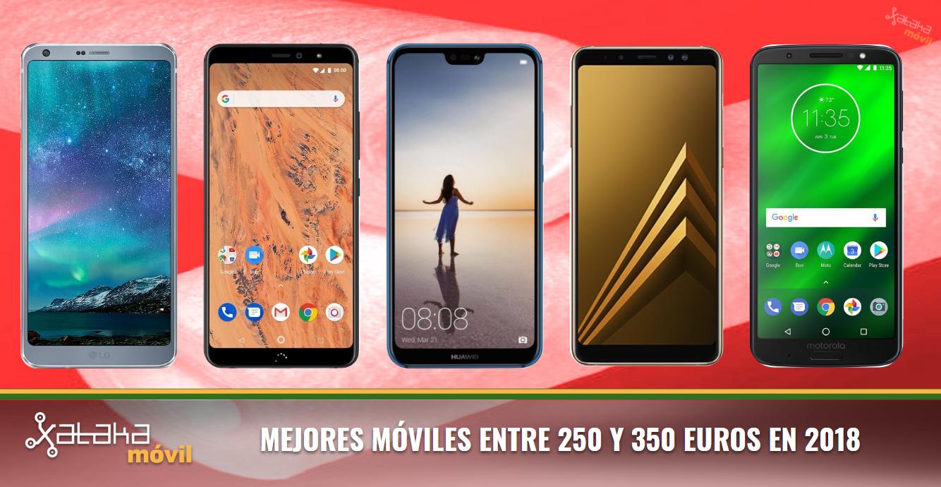 d91c3b6235 Los mejores móviles de gama media/alta alrededor de 300 euros en 2018