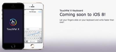 TouchPal presume su nuevo teclado para iOS 8 en vídeo