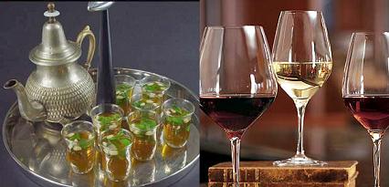 Bebida predilecta de los marroquíes, el vino