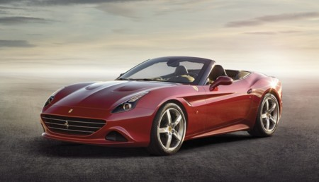 Ferrari California T rojo delantero