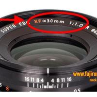 Fujifilm podría estar preparando un objetivo espectacular: 30 mm y... ¡f/1.0!