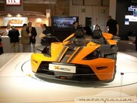 KTM presenta el X-Bow en el Salón de Madrid