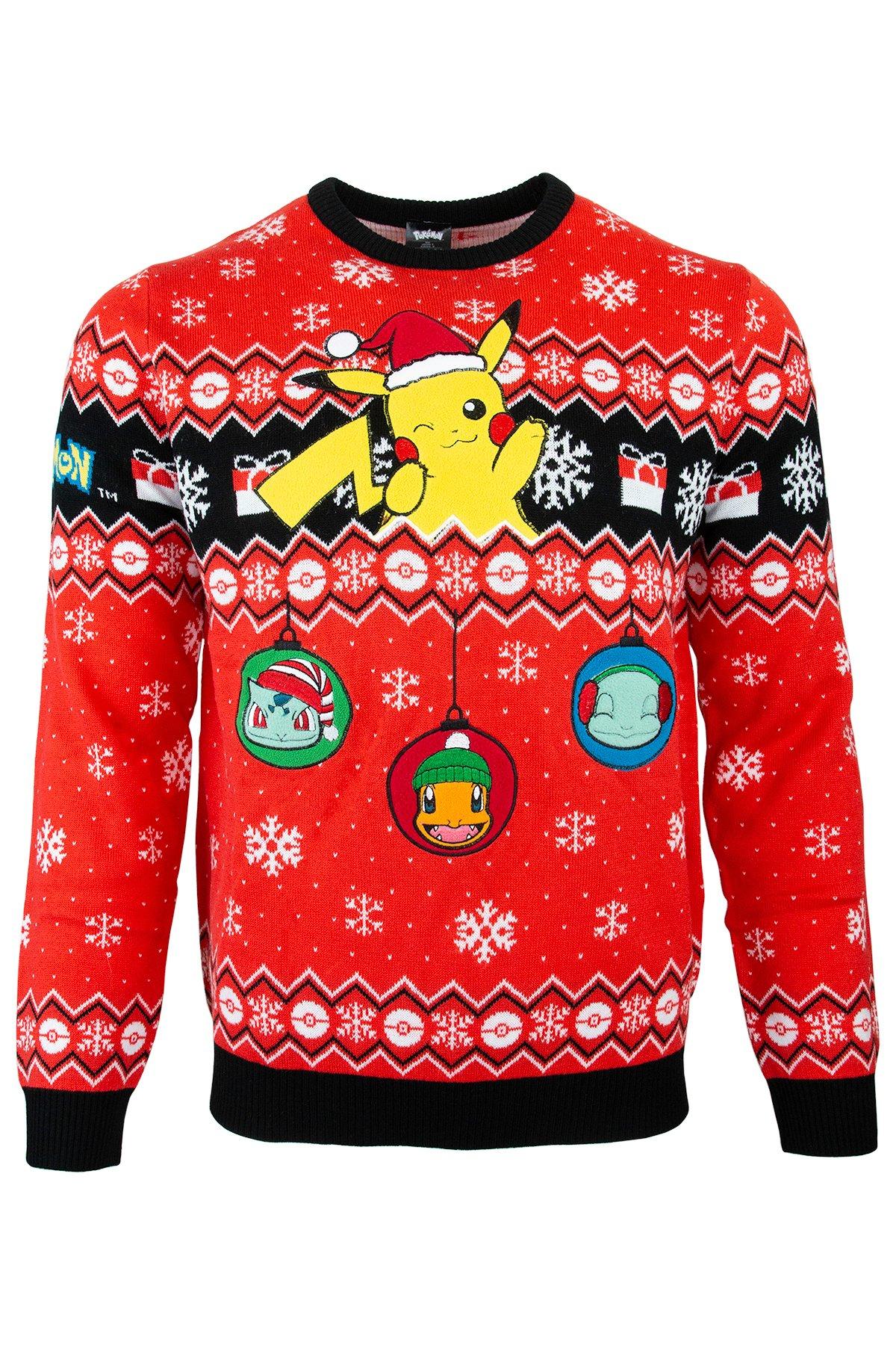 Pokémon Christmas Jumper