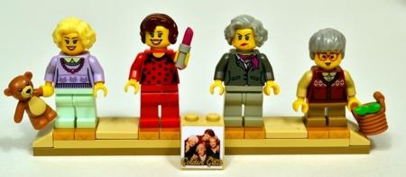 El público exige el regreso de 'Las chicas de oro'... en forma de LEGO