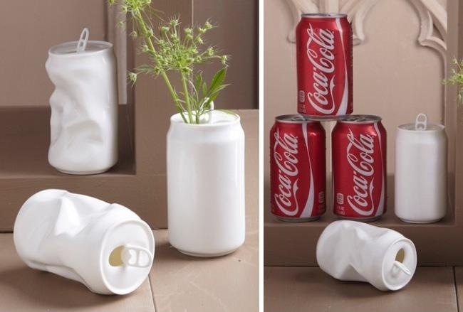jarrones latas