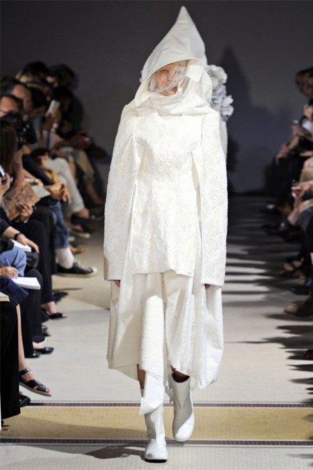 Blanco Comme des Garcons Primavera-Verano 2012