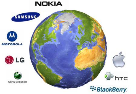 Los principales productores de telefonía móvil perdiendo terreno