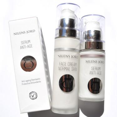 Nilens Jord vuelve a conquistarme: probamos el sérum y la crema facial de esta marca danesa