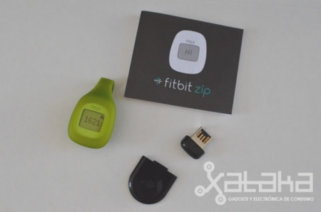 Fitbit Zip contenido de la caja
