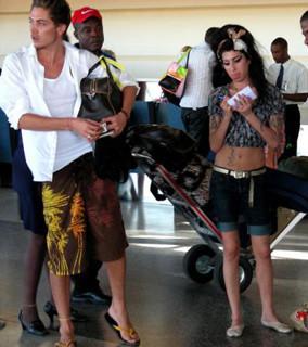 Amy se largó al Caribe