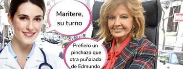 """María Teresa Campos se prepara para recibir la vacuna y desvela su mayor preocupación: """"Me asusta"""""""