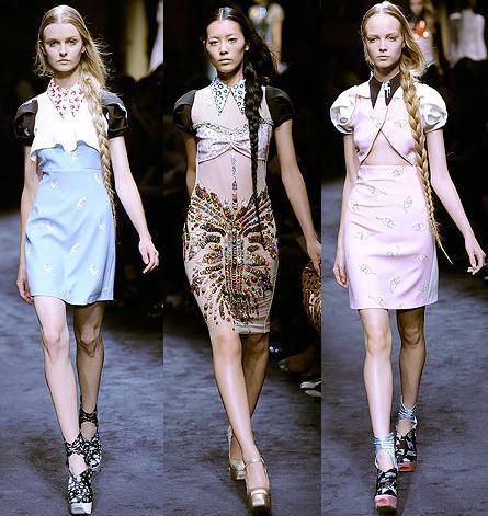 La próxima Primavera-Verano 2010 la mujer se pone nostálgica, femenina y romántica: vota tu colección preferida