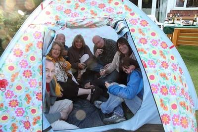 Red de jardines privados donde puedes acampar